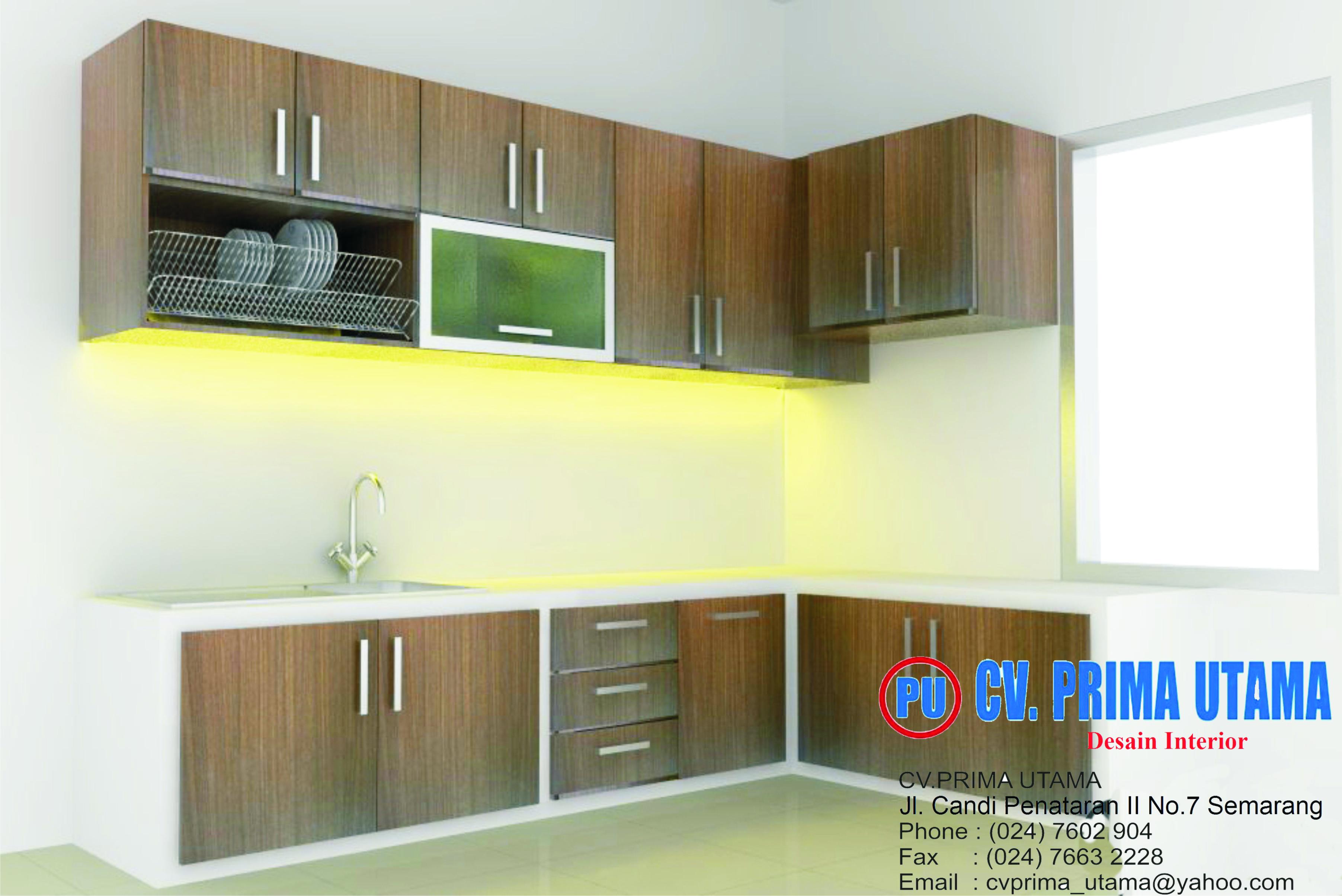Jasa design interior kitchen set