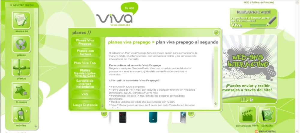 Viva (nueva Telefónica) República Dominicana (2/3)