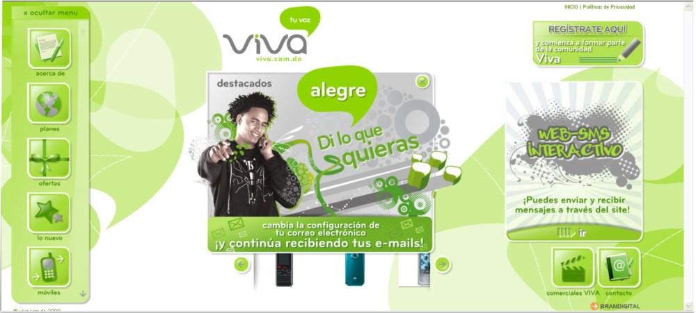 Viva (nueva Telefónica) República Dominicana (1/3)