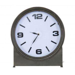Be Pure Metalowy zegar AGELESS czarny 800489-Z