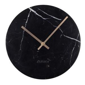 Zuiver Zegar MARBLE TIME czarny 8500033