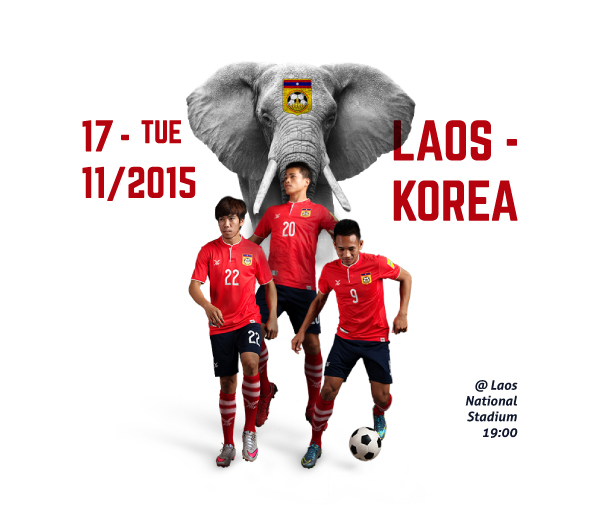 Laos Korea Match