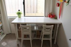 5. Kid's room desk by A Little Delightful