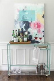 DesignJoyBlog DIY Ikea VITTSJÖ Hacks Bar Cart