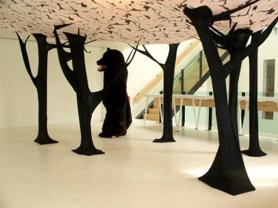DesignJoyBlog // Lloyd Hotel Amsterdam Forest & Bear by Eiko Ishizawa