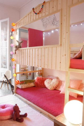 DesignJoyBlog // Ikea KURA Wooden House
