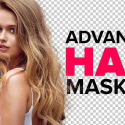 hair masking in photoshop – mask hair from busy backgrounds