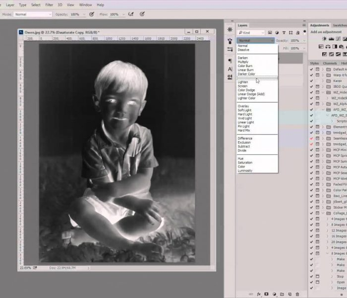 Create A Sketch from a Photograph