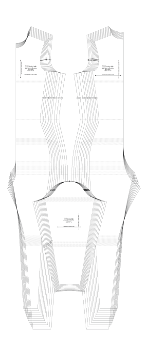 Basic body glove pattern basid block by Patternlab