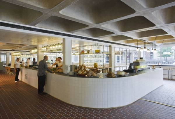 A new image for Barbican Foodhall and Lounge, London