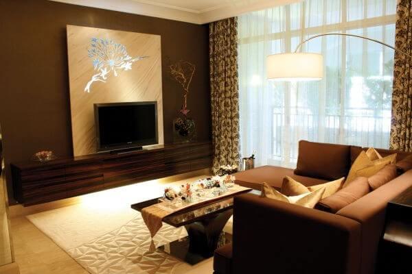 the psychology of color for interior design interior design rh designlike com brown colour interior design
