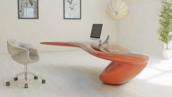 Futuristic Design Combining New Technologies and Modern Materials ...
