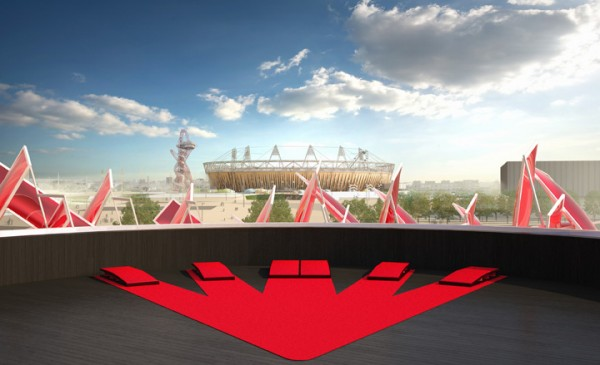 Coca-Cola-pavilion-london 2012-rooftop-view