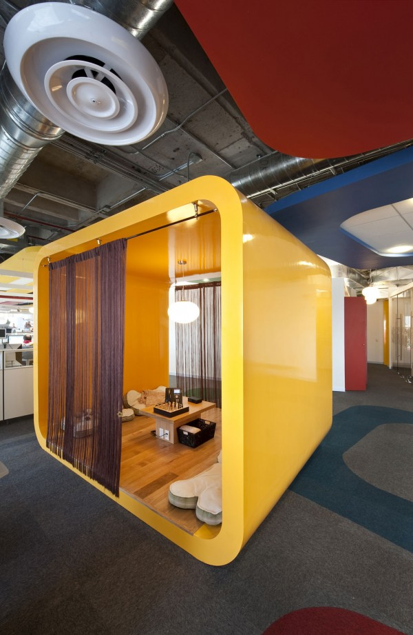 Marvelous Inspiring Design Concept For Google Office In Mexico U2013 Interior Design,  Design News And Architecture Trends Images