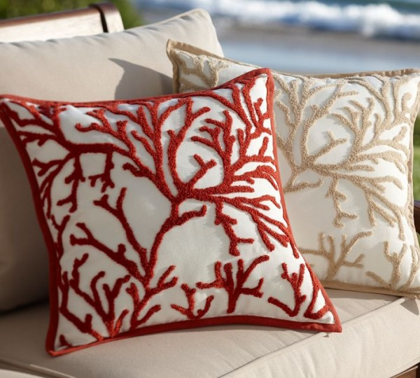 extra product home starfish pillow contemporary zippered large outdoor blue coral and cushions pillows design indoor