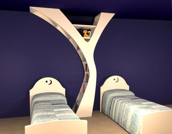 YULE-innovative-bookshelf-design-for-kids-room & YULE an Alternative to Conventional Bookshelf Designs \u2013 Interior ...