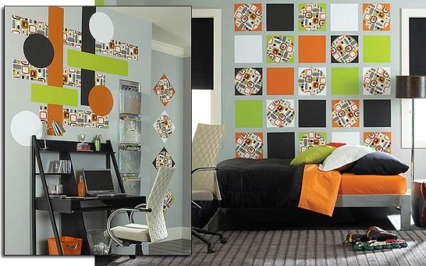 green-orange-decorating-ideas-bedroom