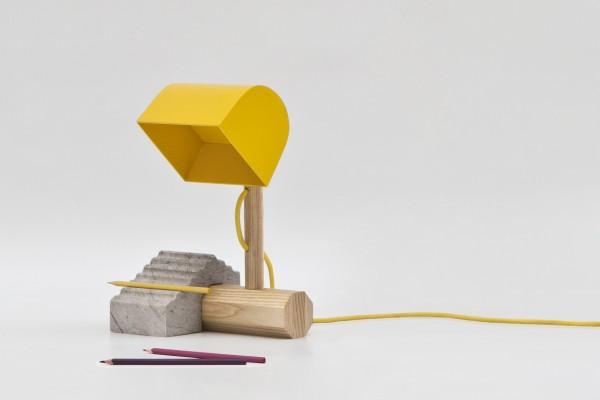 desk lamp lego