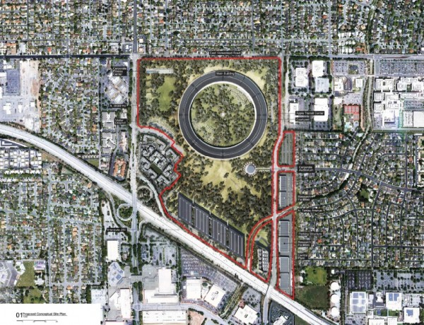 Apple-Campus-2-Cupertino-CA-detailed-plans