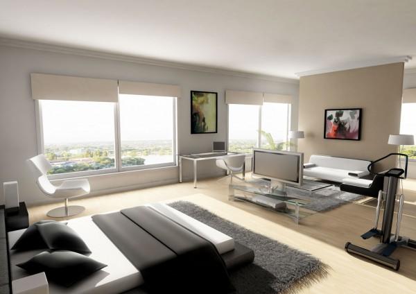 best penthouse bedroom