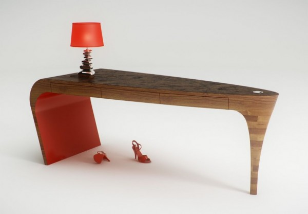 Hand-Sculpted-Stiletto-Desk-by-Splinter-Works