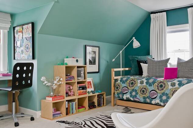 Youtful-and-fresh-girl-bedroom
