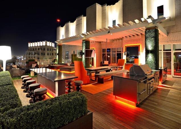 LED-lighting-on-modern-rooftop