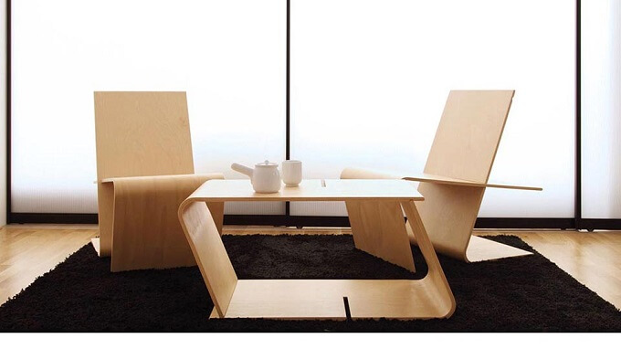 Moulded-plywood-chair
