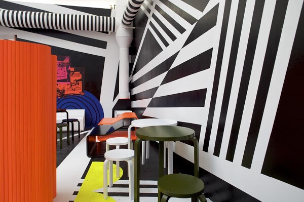 Colorful-design-with-geometric-shapes