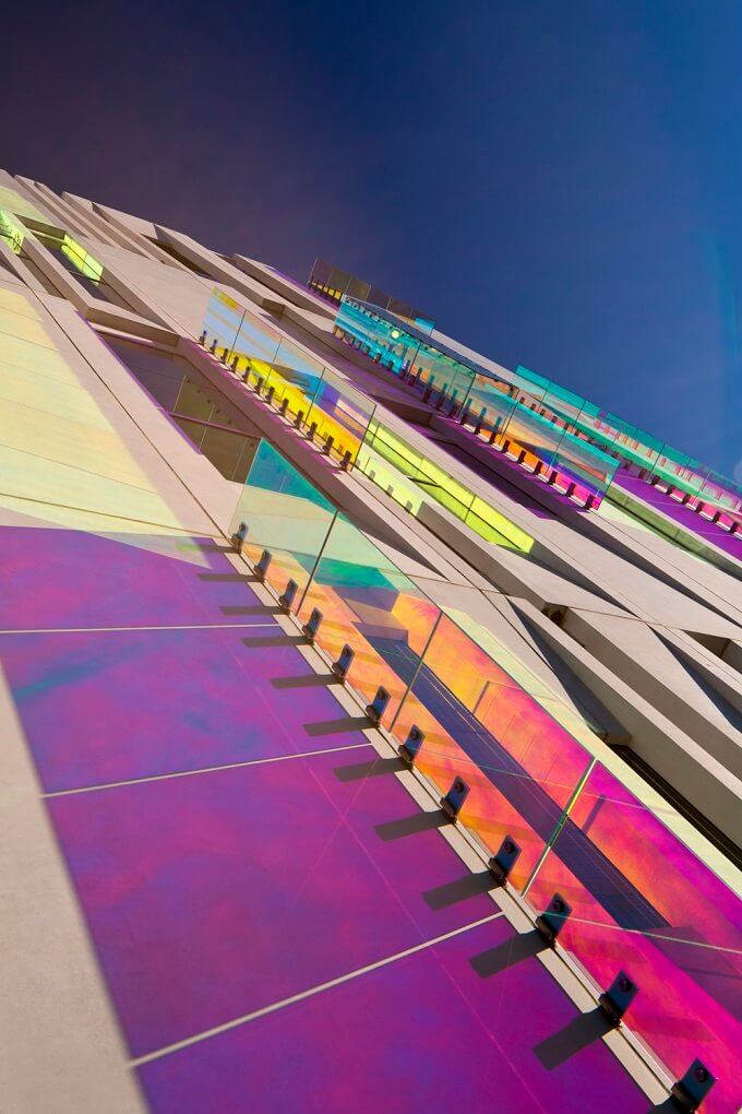 Kaleidoscope -of-colour-on-the building