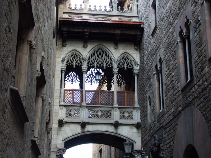Gothic-Quarter-in-Barcelona