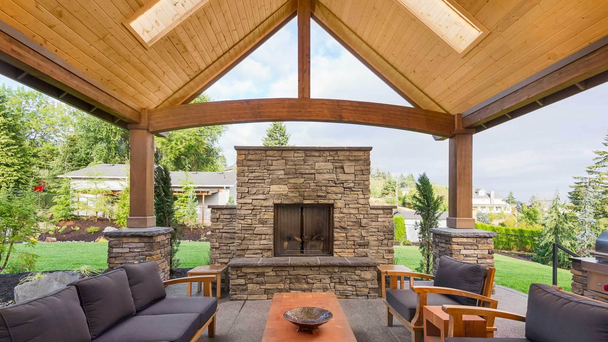 Make Your Patio Perfect With The Right Roof Interior