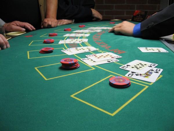 Blackjack-table-board