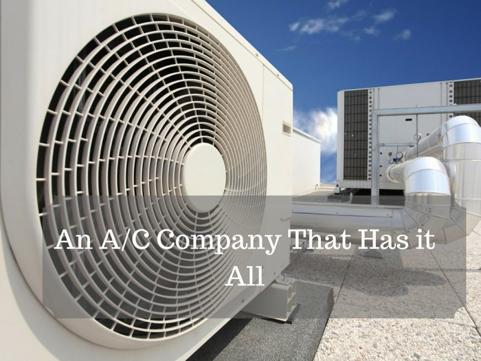 An A%2FC Company That Has it All