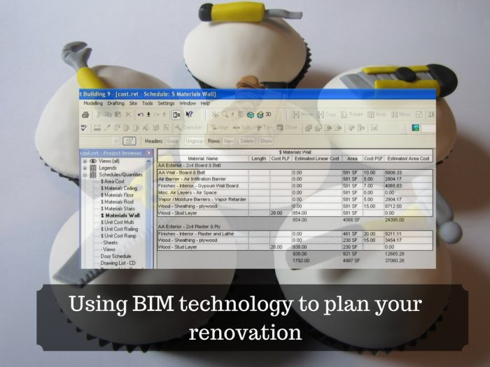 Using BIM technology to plan your renovation