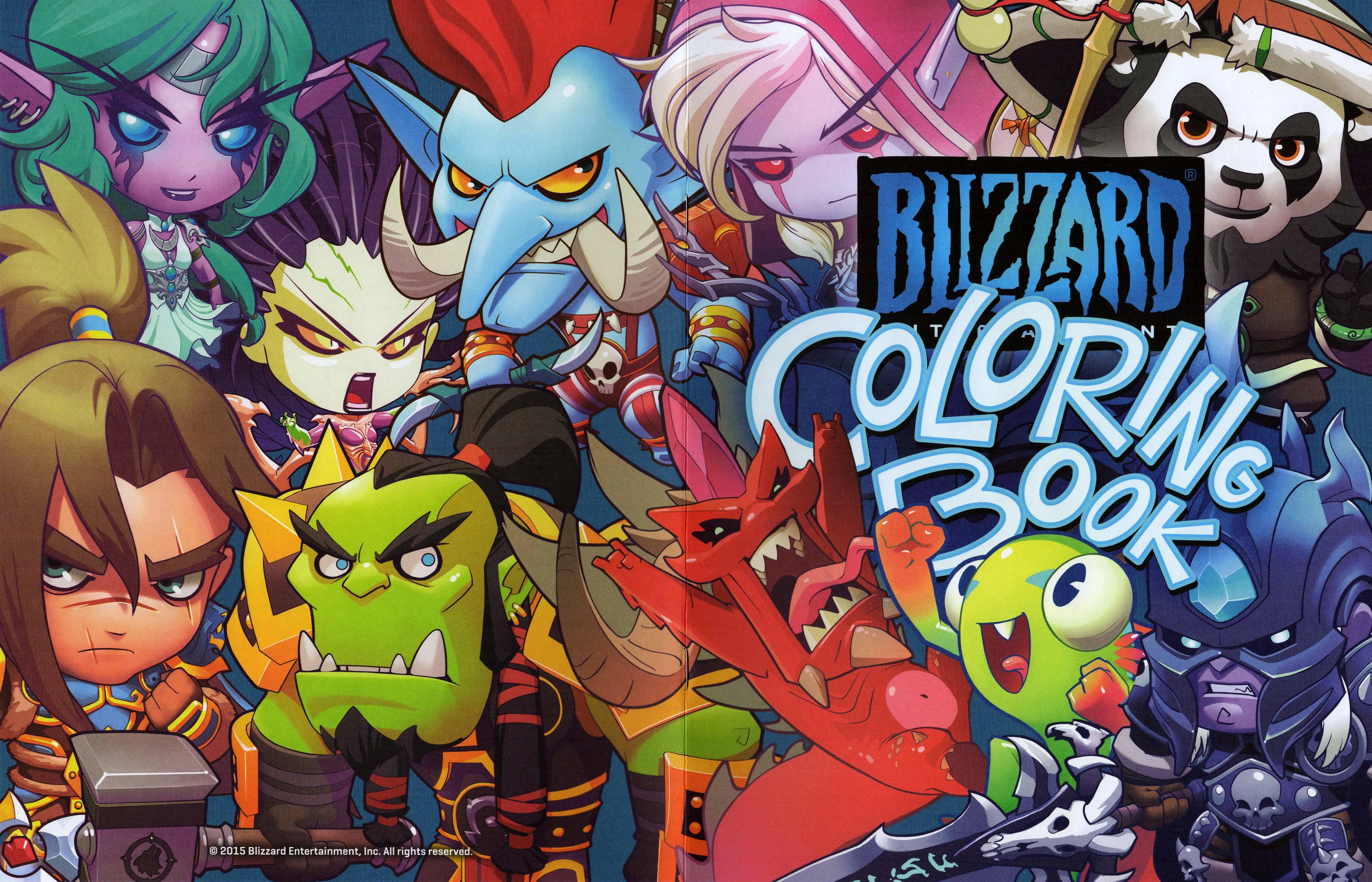 Blizzard Coloring Download Blizzard Coloring
