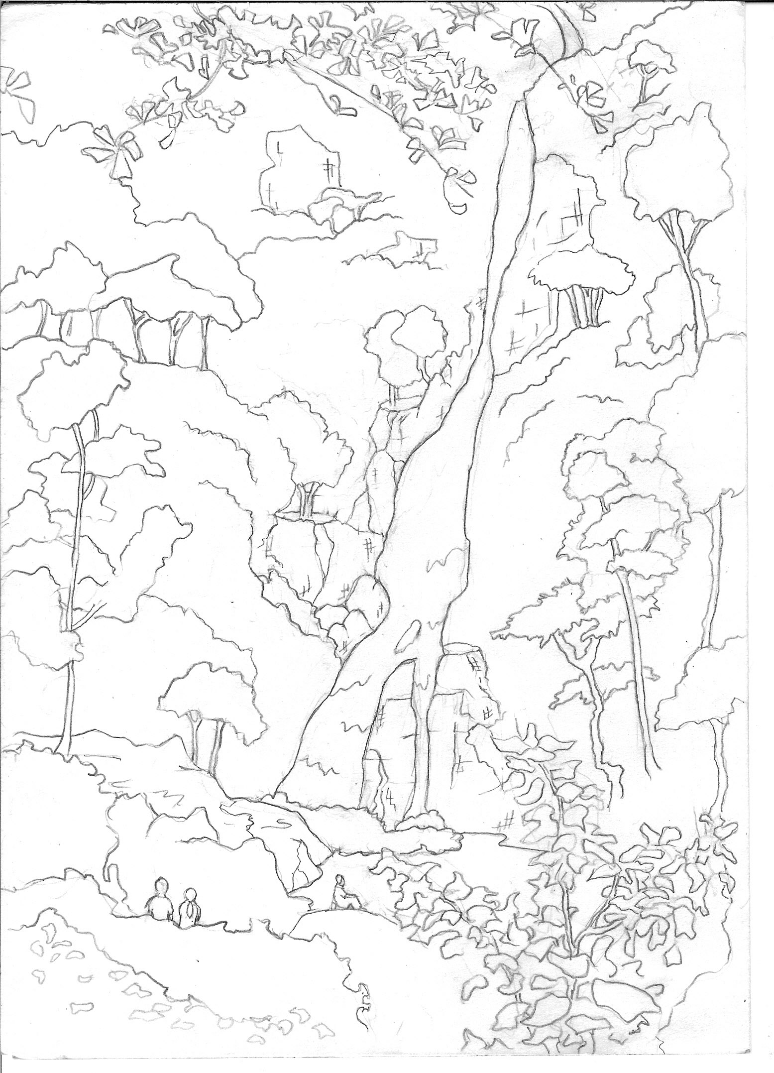 Download Eco Tourism Coloring For Free