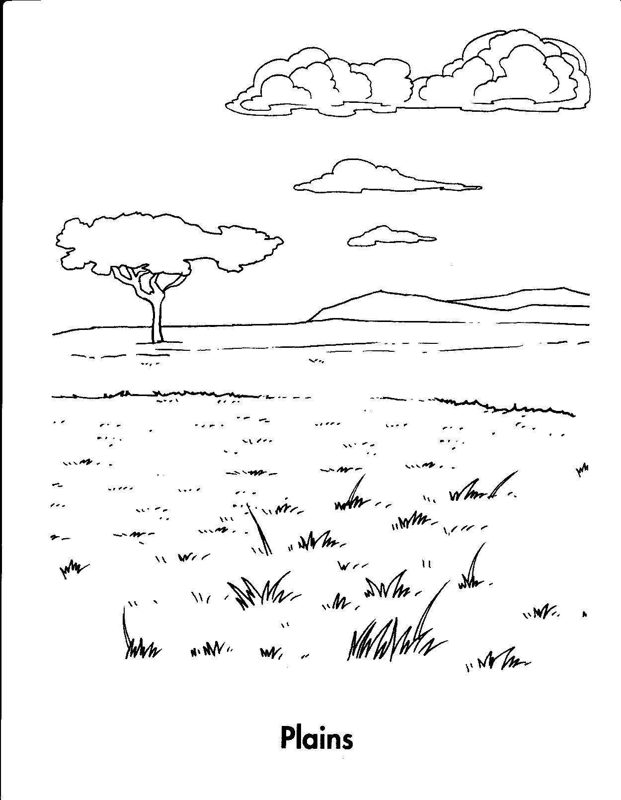 Great Plains Coloring Download Great Plains Coloring For