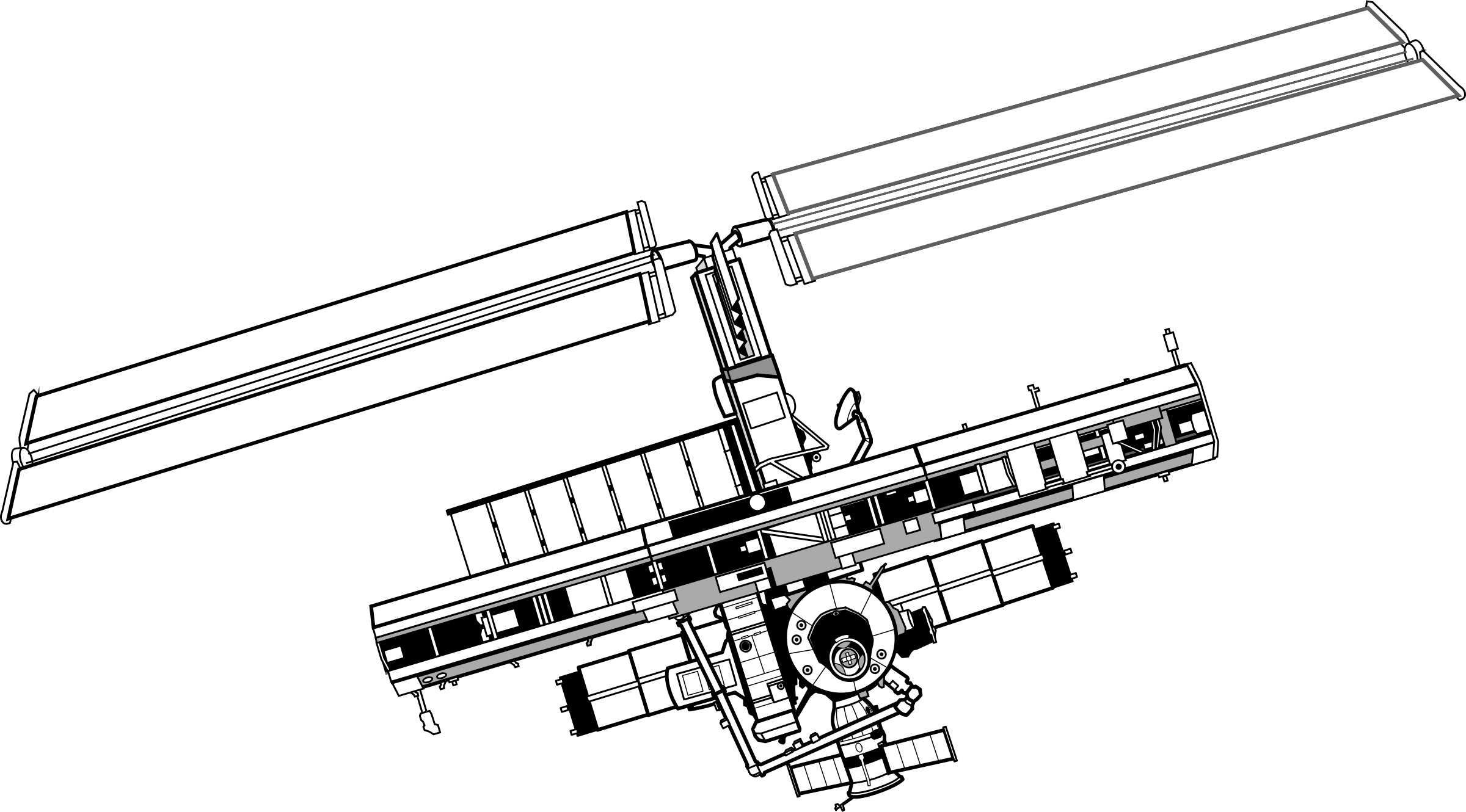 International Space Station Clipart Download