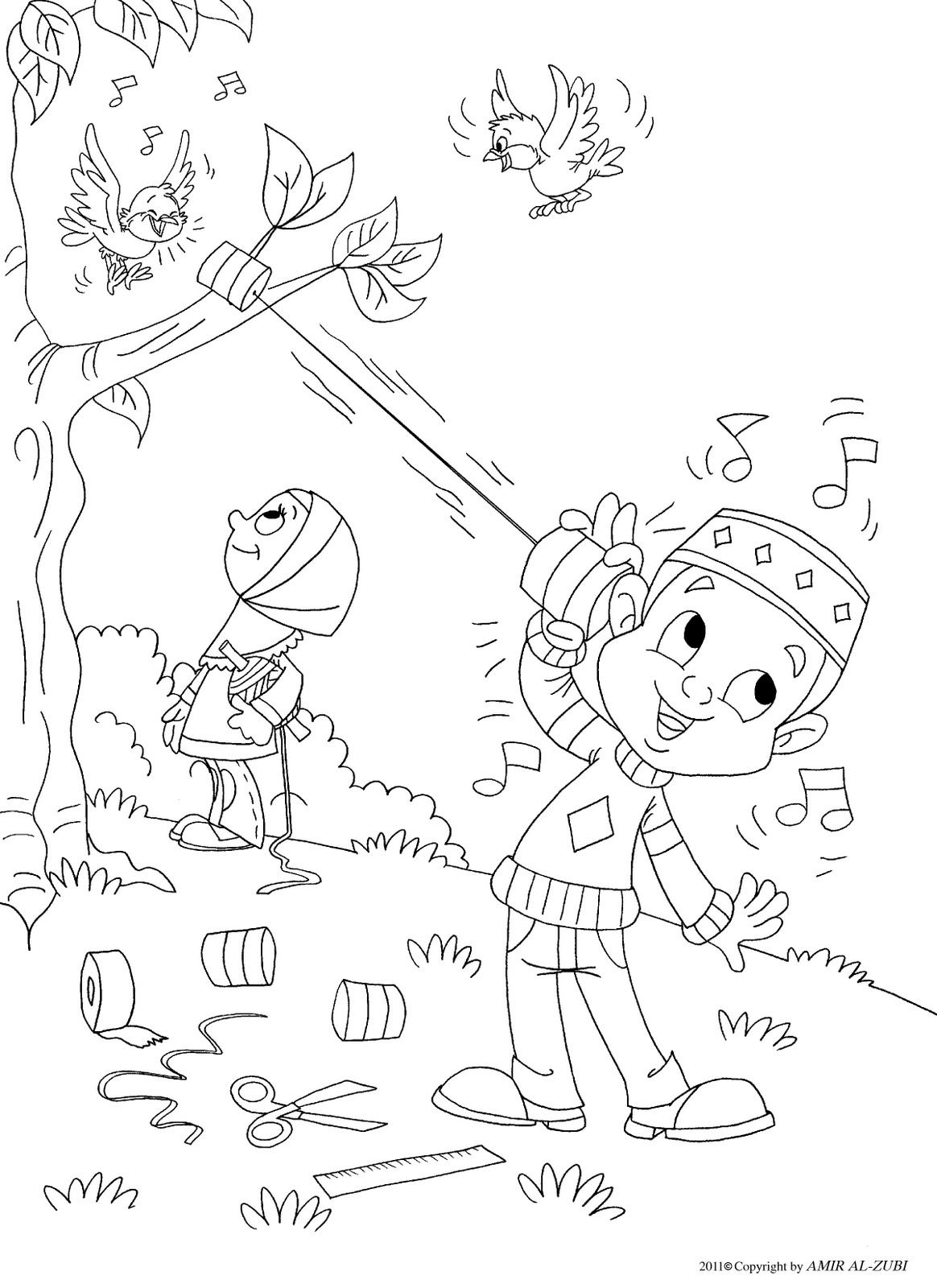 Printable Islamic Coloring Pages For Kids Sketch Coloring Page