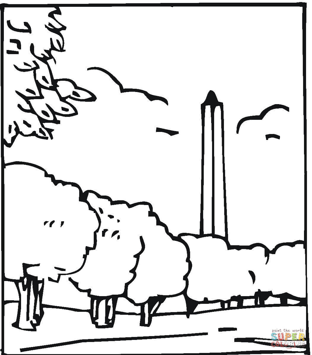 Download Monument Coloring For Free