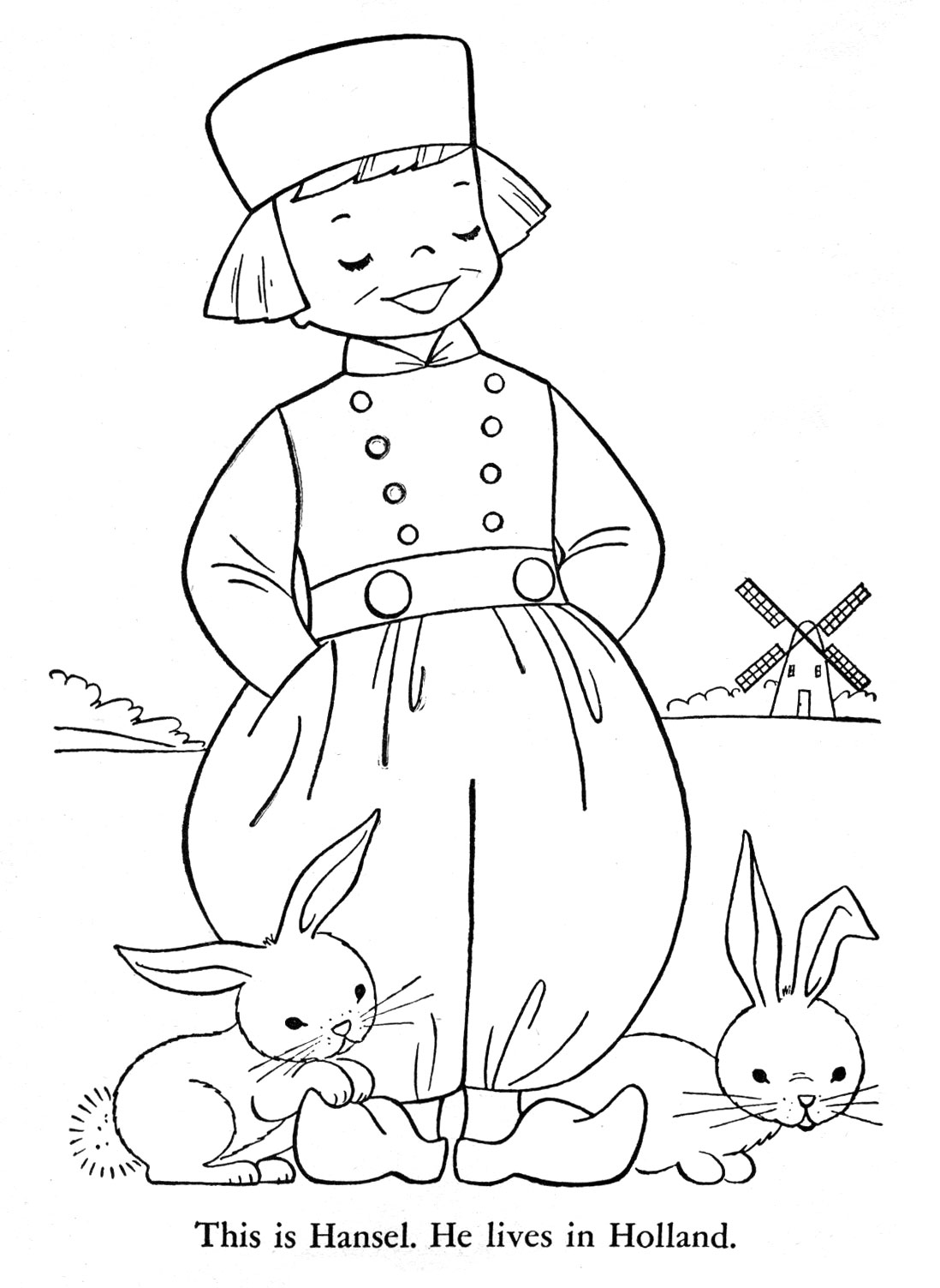 Netherlands Coloring Download Netherlands Coloring For