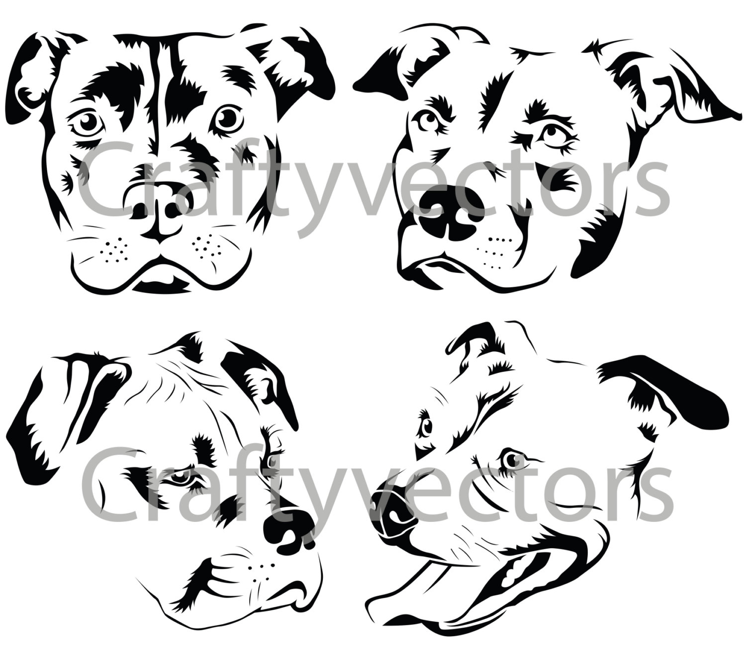 Pit Bull Svg Download Pit Bull Svg