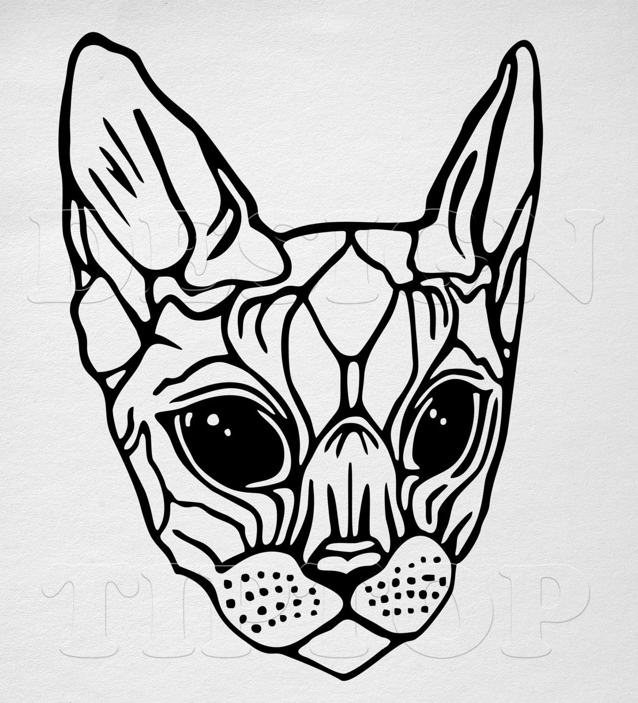 Sphynx Cat Svg Download Sphynx Cat Svg