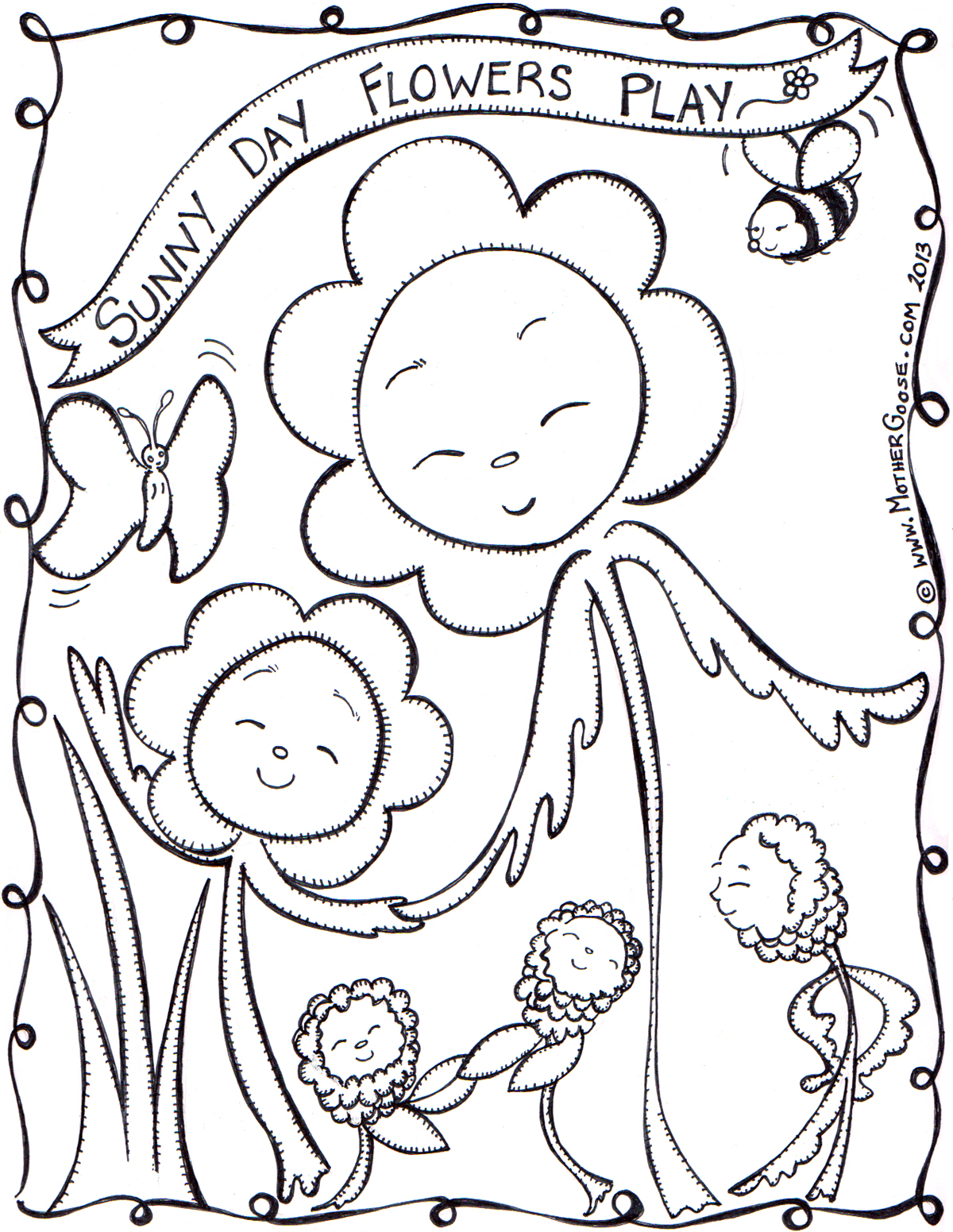 Sunny Coloring Download Sunny Coloring For Free