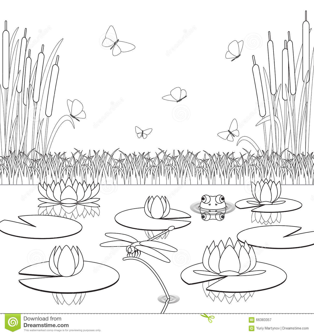 Swamp Coloring Download Swamp Coloring For Free