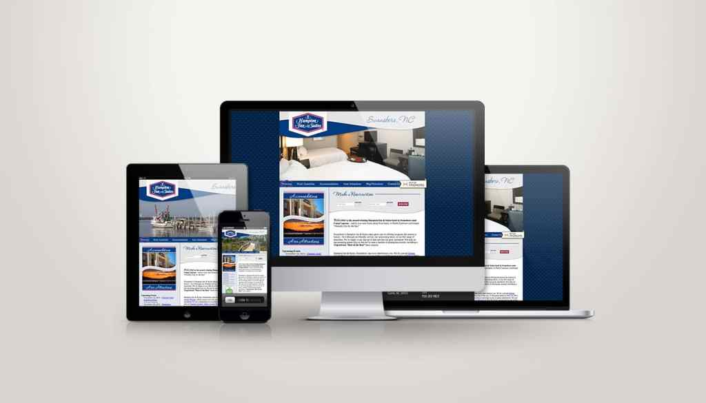 Hampton Inn of Swansboro - Web Design