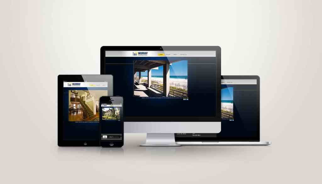 Murry Construction - Web Design
