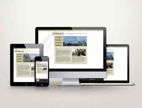 Overholt Law - Web Design