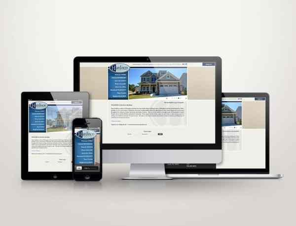 Hardison Building Company - Web Design